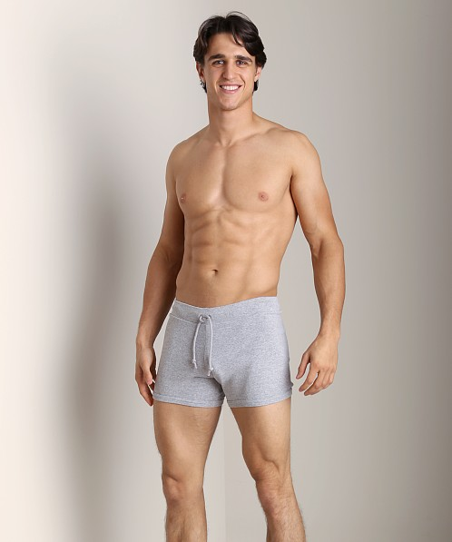 Go Softwear 100% Cotton Hiker Short Heather Grey