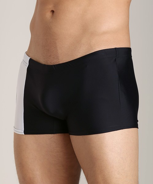 Go Softwear Square Cut C-Ring Trunk Black/White