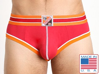 "Timoteo ""84"" Athlete Backless Brief Red"