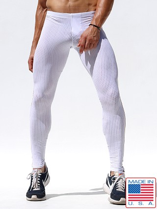 Rufskin Throttle Stretch Mesh Tights White