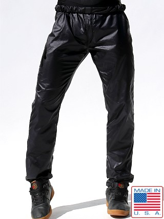 Rufskin Roll Down Ripstop Nylon Pants Black