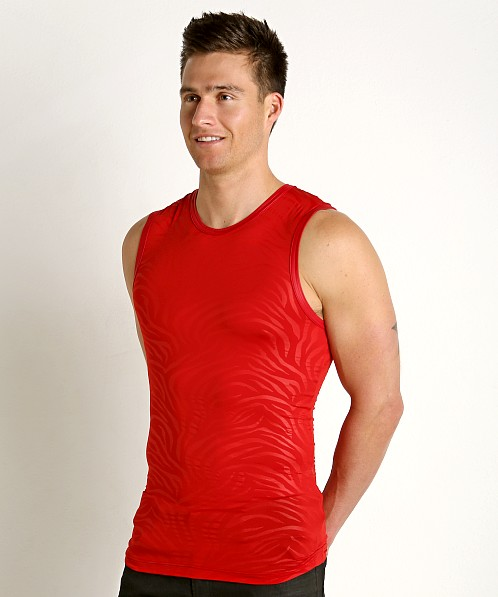Gregg Homme Hookt Muscle Shirt Red