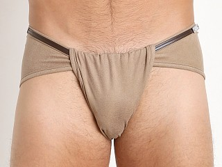 Gregg Homme Wild West Faux Suede Loincloth Brief Sand