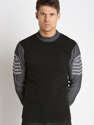 Nasty Pig Officer Sweater Black/Grey
