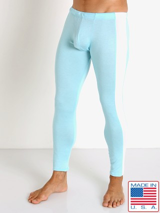 Model in glacier blue Go Softwear Body 2 Extreme Tights