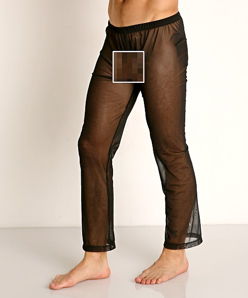 Rick Majors Sheer Mesh Lounge Pant Black
