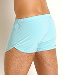 Rick Majors Glossy Flow Lounge Shorts Sky Blue, view 4