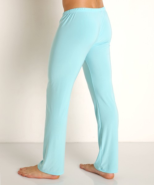 Rick Majors Glossy Flow Lounge Pant Sky Blue