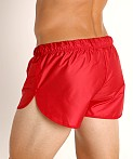McKillop Drip Bolton Poly Swim and Gym Shorts Red, view 4