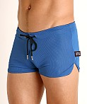 Cell Block 13 Midfield Mesh Reversible Short Blue/Black, view 3