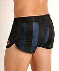Cell Block 13 Midfield Mesh Reversible Short Blue/Black, view 4