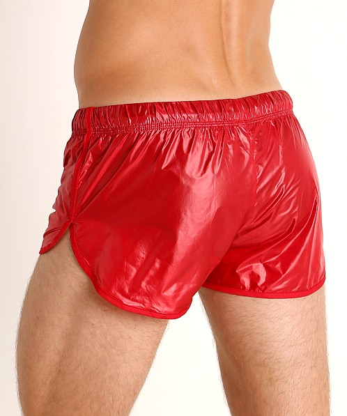 McKillop Drip Ripstop Nylon Swim & Gym Shorts Red