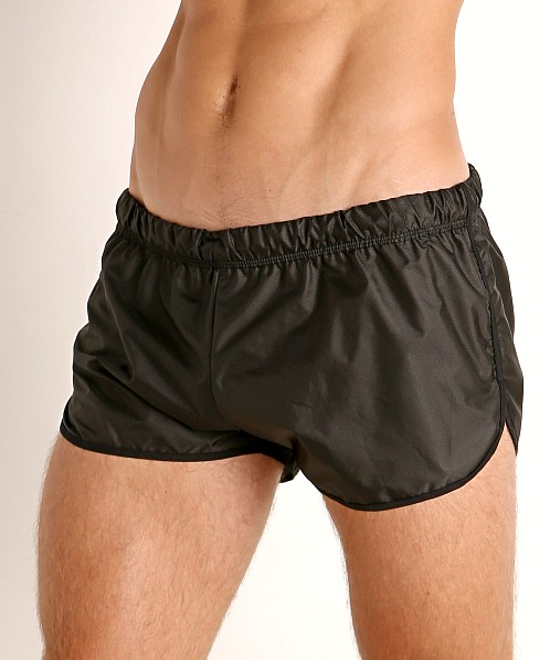 McKillop Drip Bolton Poly Swim and Gym Shorts Black