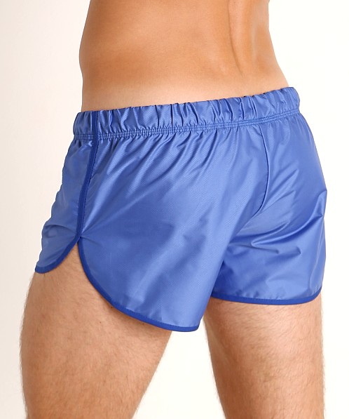 McKillop Drip Bolton Poly Swim and Gym Shorts Royal