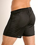 McKillop Push Expose Mesh Fitness Shorts Black, view 4