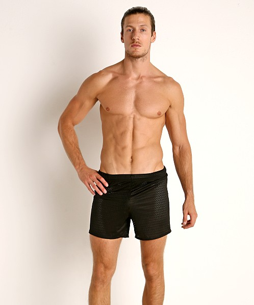 McKillop Push Expose Mesh Fitness Shorts Black