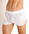 McKillop Ignite Glory Mesh Shorts White, view 3