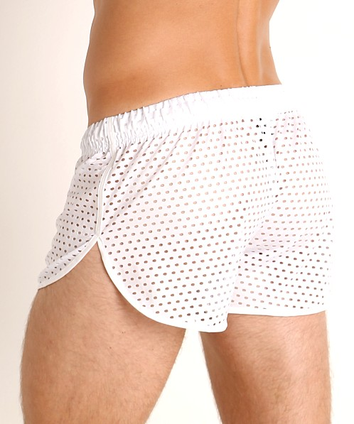 McKillop Ignite Glory Mesh Shorts White