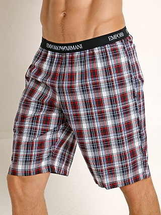 You may also like: Emporio Armani Woven Bermuda Shorts White Check/Marine/Red