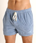 LASC Volley Gym Short Denim Blue, view 3