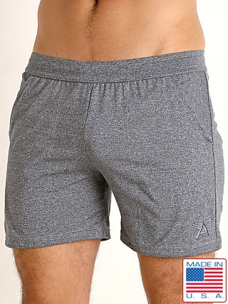 LASC Performance Training Shorts Heather Steel