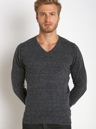 Diesel K-Benti Cotton Stretch Sweater Charcoal