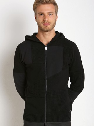 Complete the look: Diesel K-Pars Knit Hoodie Black