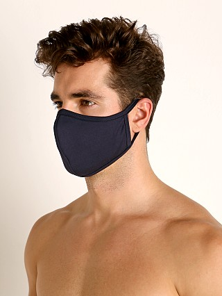Complete the look: LASC Stretch Cotton Face Mask Navy