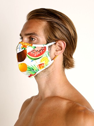 Complete the look: LASC Fashion Face Mask Tropical Picnic