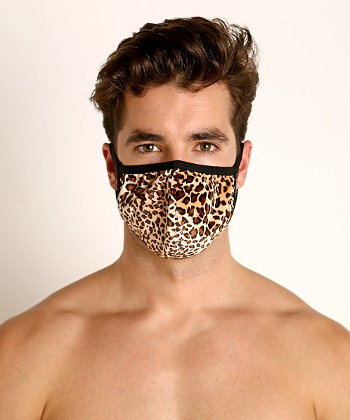 Rick Majors Fashion Face Mask Leopard