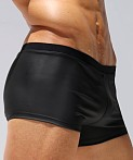 Rufskin Caliente Rubberized Sport Short Black, view 3