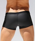 Rufskin Caliente Rubberized Sport Short Black, view 4