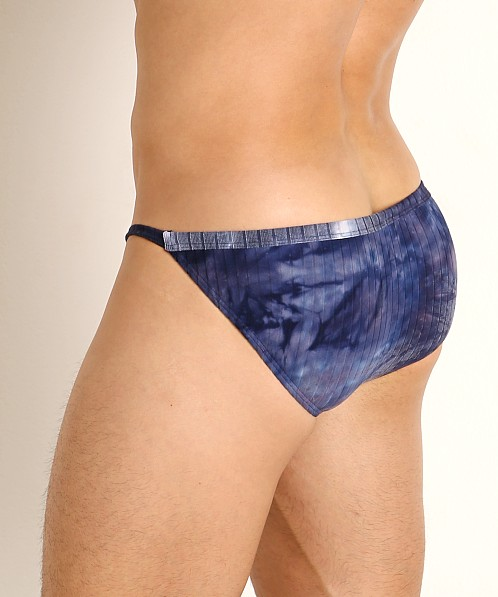 Rick Majors Plush Tie-Dye Sports Brief Navy