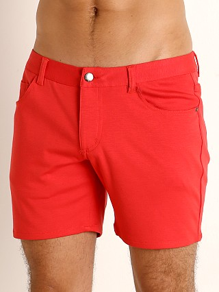 St33le Knit Jeans Shorts Watermelon