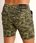 Cell Block 13 Titan Back Zipper Short Army Camo, view 4