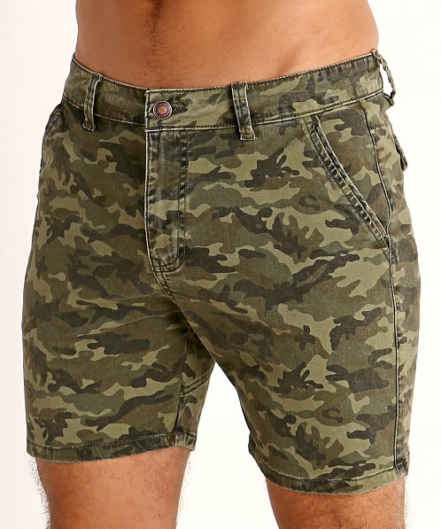 Cell Block 13 Titan Back Zipper Short Army Camo
