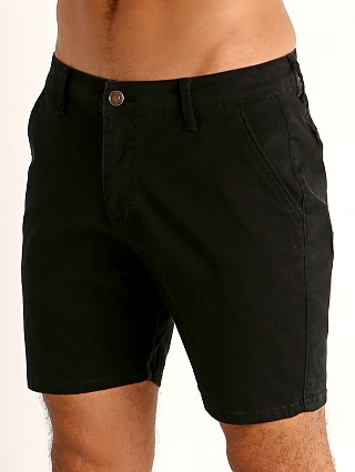 Cell Block 13 Titan Back Zipper Short Black