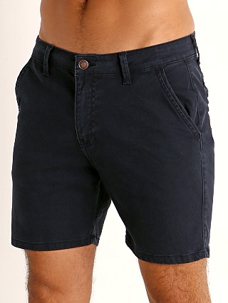 Cell Block 13 Titan Back Zipper Short Blue