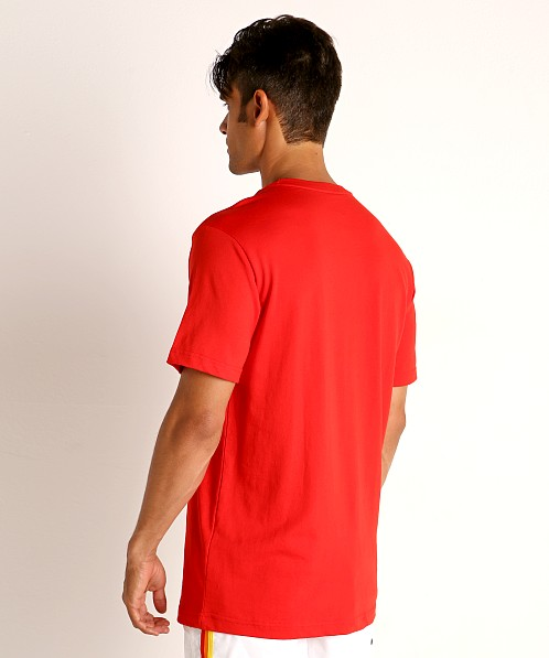 Speedo Vintage Logo T-Shirt Red