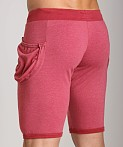 Go Softwear 100% Cotton Yoga Short Cardinal, view 4