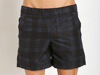 G-Star Bronson Check Beach Shorts Mazarine Blue
