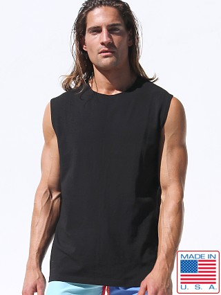 Rufskin Calicotton Zogo Muscle Shirt Black