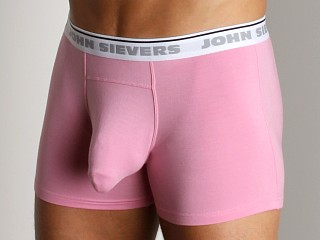 Model in pink John Sievers Natural Pouch Boxer Briefs