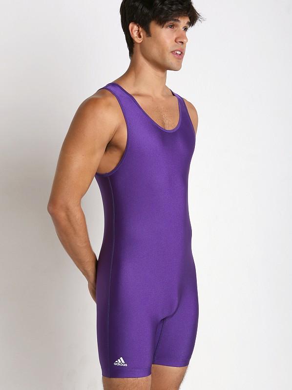 45dbb2b4b8c99 Adidas Solid Wrestling Singlet Purple