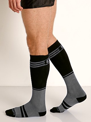 Cell Block 13 Torque 2.0 Knee Socks Grey