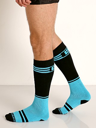 Cell Block 13 Torque 2.0 Knee Socks Turquoise