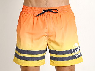 Diesel Caybay Swim Shorts Orange Ombre