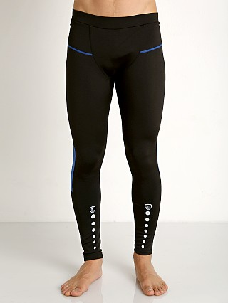 Timoteo Power Stretch Tights Black/Blue