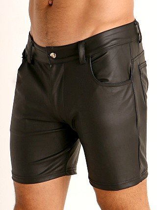 You may also like: Rick Majors Dark Mode Zippered Back Shorts Black