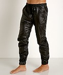 Rick Majors Ripstop Wet Look Cargo Pants Black, view 3